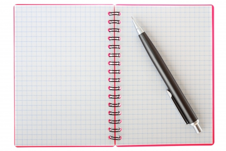 deployed: Notebook and pen on a white background
