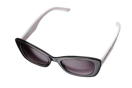 fashionable sunglasses: very fashionable sunglasses isolated on a white background