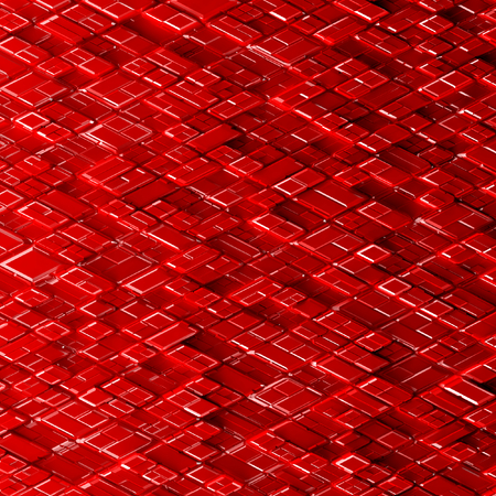 chamfer: Abstract image of cubes pattern background with perspective. Random levels. wallpaper