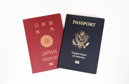 Japanese and US passports