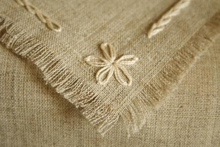 serviette: Handcraft serviette and tablecloth Fragments