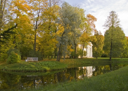 katherine: September Day View in the old Katherine Park  Pushkin,St Peterburg,Russia