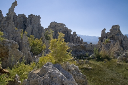 Tufah Formations in Mono Lake, Northern California photo