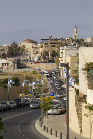 View to Andromeda Hill in Jaffa,Israel