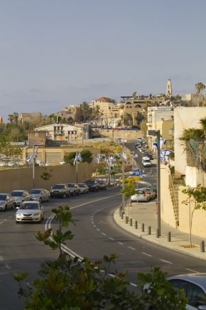 andromeda: Street and Andromeda Hill in Jaffa,Israel