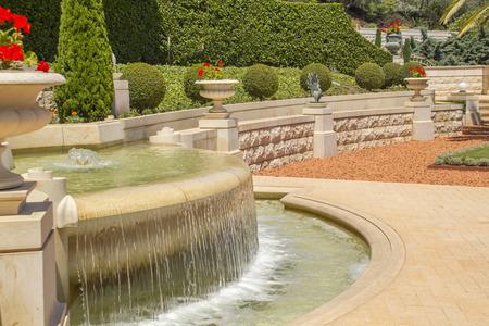 Bahai Garden in Haifa North Israel