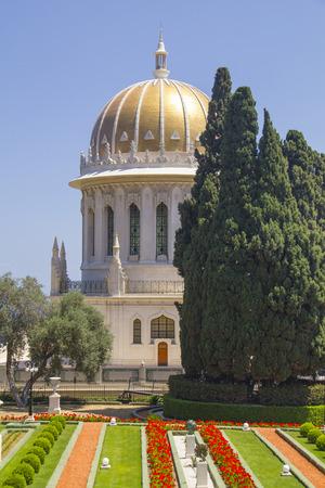 Bahai Temple in Haifa,Israel