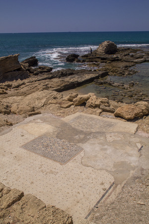 onwards: Caesarea Maritima (Greek: ???????? ?????????), called Caesarea Palaestina from 133 AD onwards, was a city and harbor built by Herod the Great about 25–13 BC. Today, its ruins lie on the Mediterranean coast of Israel