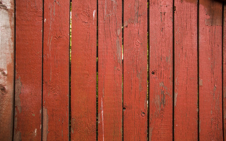 Old weathered wooden wall background.Fence Fragment Stock Photo