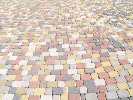 Colour paving stones which can be used as texture or as a background Stock Photo - 1897962