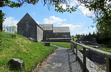 abbey: Ballintubber Abbey  founded by Irish King Cathal O