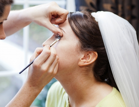 makeover: View bride-to-be having a Facial Makeover