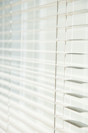 Metal Blinds with drawstring. Roller Shutter Background photo