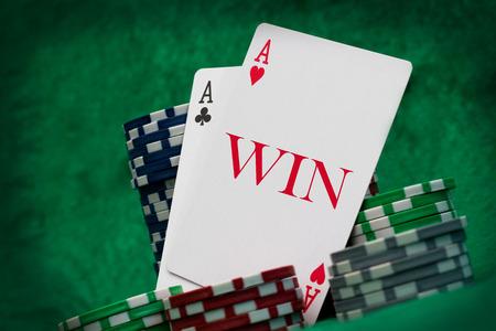 gambling cards photo