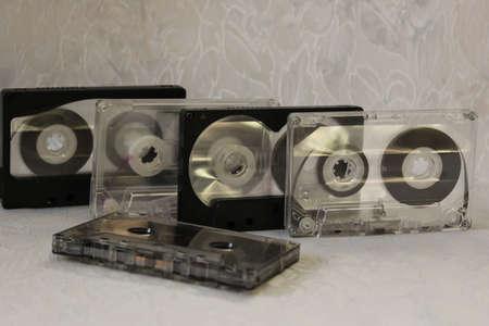 audio: The old audio cassette Stockfoto