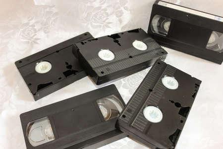 videocassette: videocasetera