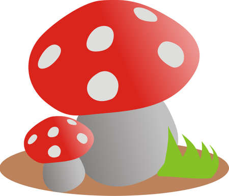Fly agarics Stock Vector - 8275828