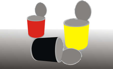 Cans Illustration