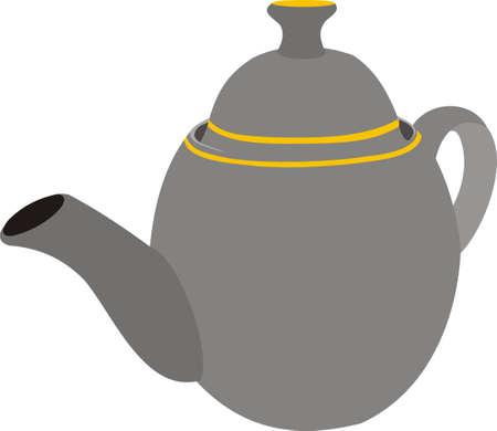 necessity: Teapot Illustration