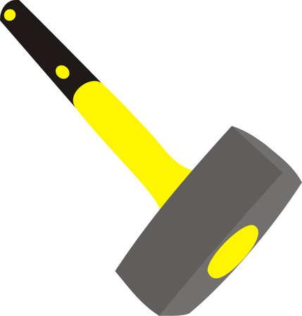 Sledge hammer Illustration