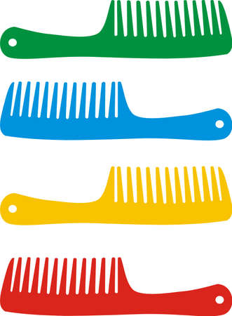 Set of hairbrushes