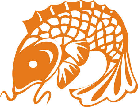 Goldfish Stock Vector - 8423627