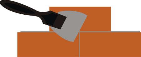 haltbarkeit: Backsteinmauer Illustration