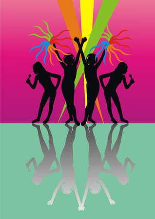 Youth disco Stock Vector - 8929009
