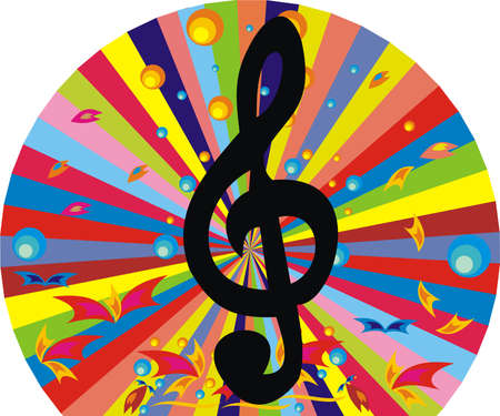 music figure: Musical key