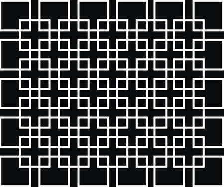 White squares Illustration