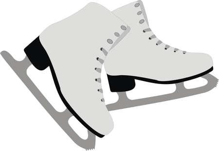 The female skates