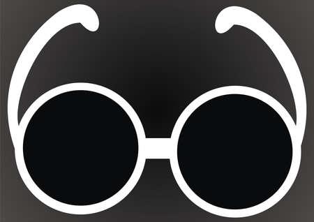 Black glasses Stock Vector - 9721249