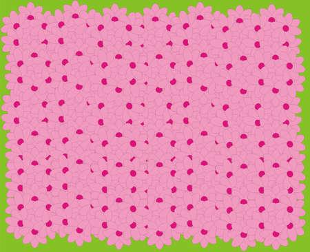 glade: Flower glade Illustration