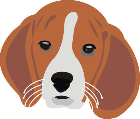 Head of a puppy Stock Vector - 10466273