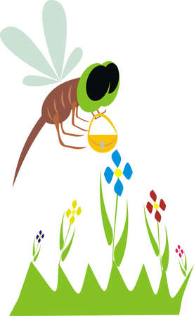 Flying insect Stock Vector - 10466274