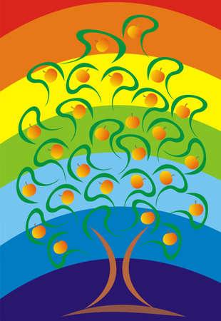 appletree: Apple-tree with apples