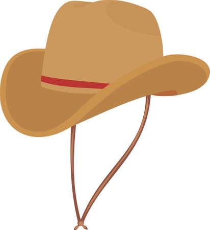 Hat of the cowboy Illustration