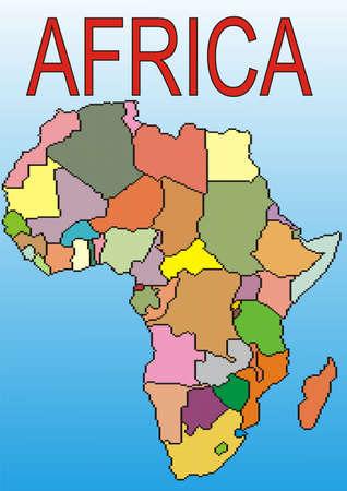 Africa Stock Vector - 12357405