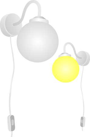 Beautiful lamp Stock Vector - 13020926