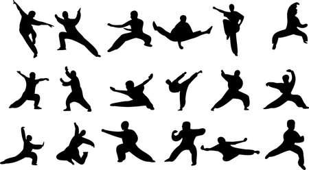 dexterous: Martial art Illustration