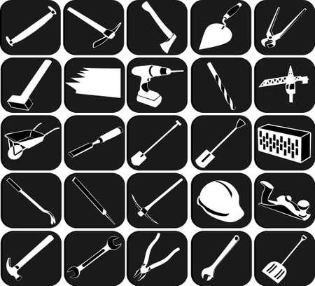 mattock: Set of icons