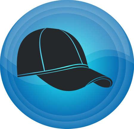 Button of a cap