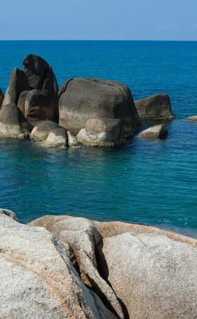 phallic: Hin Ta Hin Yai (Grandfather  and Grandmother) is a famous symbolic of Koh Samui Island, Thailand.