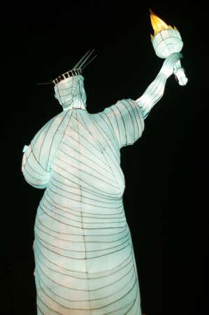 big lamp Statue of Liberty