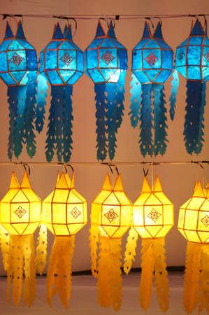 northern thailand lantern Stock Photo
