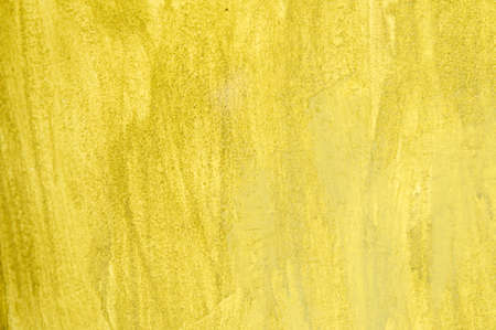 Yellow plaster - wall background or texture
