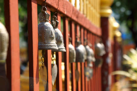 Bells in temple Stock Photo - 22876242
