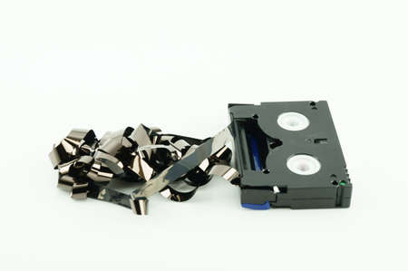 vcr: Old VCR tape