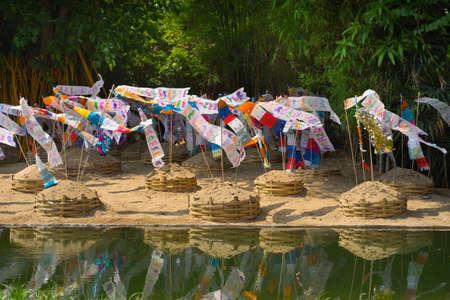 Songkran Festival in Chiang Mai, Thailand.