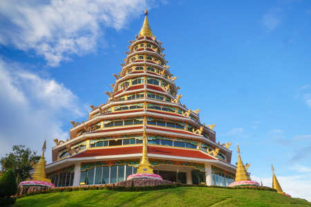 Huay pla kung temple , A beautiful temple in chiang rai , Thailand Stock Photo
